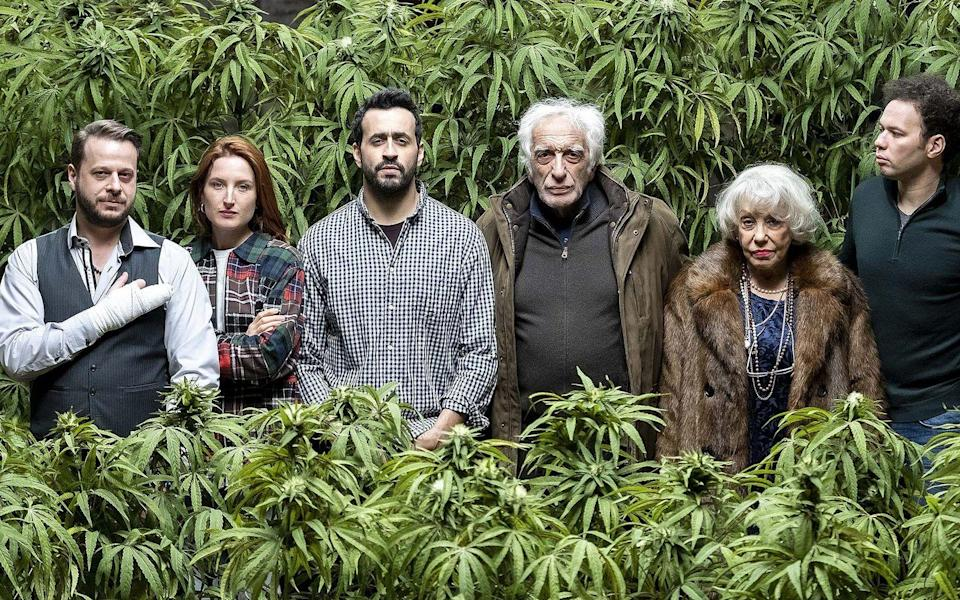 """<p>Entrepreneur Joseph (Jonathan Cohen) thinks he's finally stumbled on his first good idea. With France about to legalize marijuana, he decides to turn his father's kosher butcher shop into a dispensary. The dysfunctional family dramedy only gets better from there.</p><p><a class=""""link rapid-noclick-resp"""" href=""""https://www.netflix.com/title/81010818"""" rel=""""nofollow noopener"""" target=""""_blank"""" data-ylk=""""slk:Watch Now"""">Watch Now</a></p>"""
