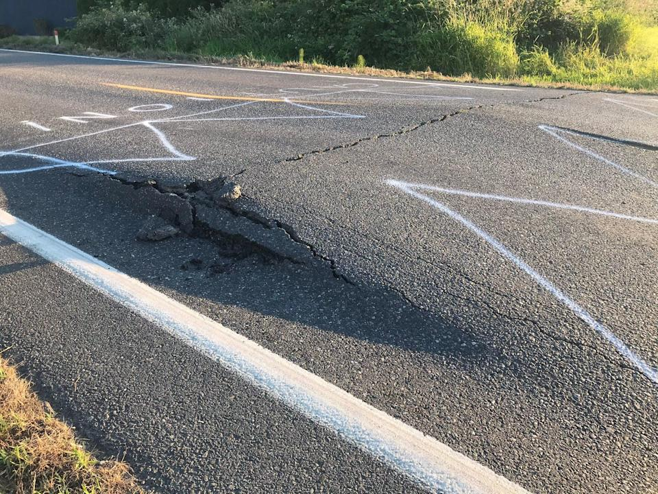 Transport infrastructure, such as roads and trains, have been drastically impacted by the heatwave hitting the area. Experts believe this is what is expected due to the climate crisis.  (National Weather Service)