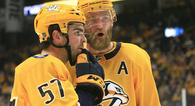 The Predators certainly aren't living up to the hype after a decent summer or roster management. (Photo by Danny Murphy/Icon Sportswire via Getty Images)