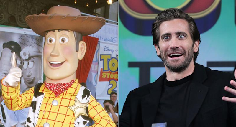 Woody and Jake Gyllenhaal - separated at birth? (Getty)
