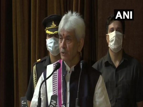 LG Manoj Sinha announced a relief package of Rs 1350 crore for the UT on Saturday. [Photo/ANI]