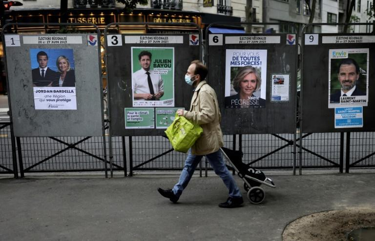 The first round of France's regional elections were shunned by a record 66.72 percent of voters