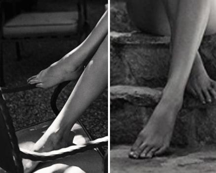 The 22-year-old's toes definitely appear to extremely elongated, just like all the other limbs on her body. Source: Instagram / Sasha Samsonova
