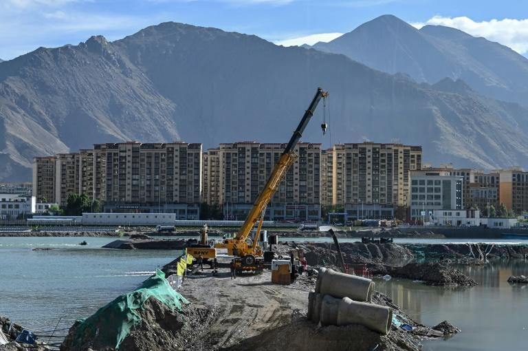 The building boom in Tibet has sharpened divisions in a region well-known for discontent under Chinese control