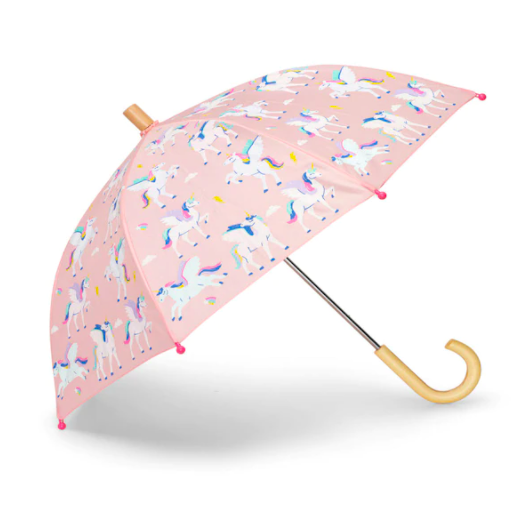 Magical Colour-Changing Umbrella. Image via Indigo.