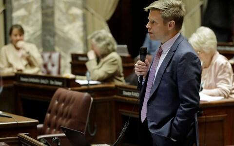 Democrat Jamie Pedersen was the primary sponsor of the bill - Credit:  Ted Warren/ AP