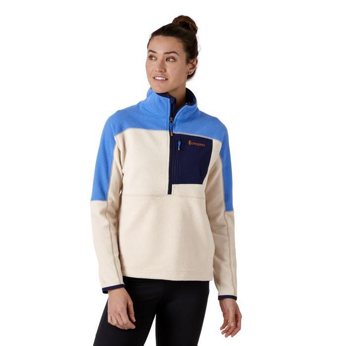 """<h3><strong><h2>Cotopaxi Dorado Half-Zip Fleece Jacket</h2></strong></h3><br><strong>Why It's A Best Buy</strong>: Fleece is making a comeback among the cool kids, thanks to downtown designers like Sandy Liang — and many stalwart outdoorsy brands are taking notice, remixing their previously earth-toned offerings in fashion-friendly colors. The best thing about fleece's resurgence — other than its supreme coziness — is that a lot of it is being made with recycled polyester, which lessens the impact of this synthetic-heavy fiber. In sum, this easy layer is both cool and eco-friendly, making it a transitional no-brainer.<br><br><strong>The Review</strong>: """"This has been my go-to fleece ever since I bought it. Love the weight and all of the pockets. Have received multiple compliments on the color too!"""" — Haley Y., Cotopaxi.com reviewer<br><br><strong>Cotopaxi</strong> Dorado Half-Zip Fleece Jacket, $, available at <a href=""""https://go.skimresources.com/?id=30283X879131&url=https%3A%2F%2Fwww.cotopaxi.com%2Fproducts%2Fdorado-half-zip-fleece-jacket-womens"""" rel=""""nofollow noopener"""" target=""""_blank"""" data-ylk=""""slk:Cotopaxi"""" class=""""link rapid-noclick-resp"""">Cotopaxi</a>"""
