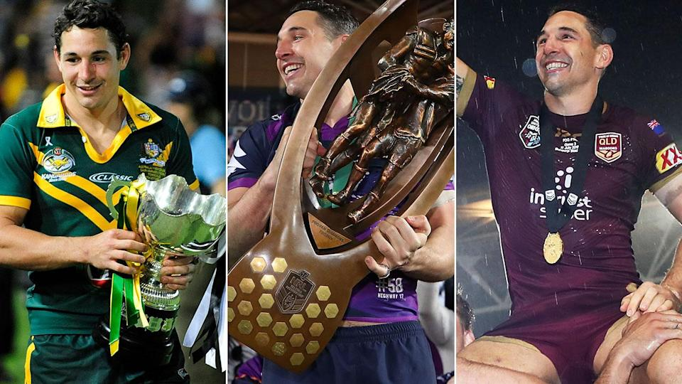 Slater has won just about everything rugby league has to offer. Pic: Getty