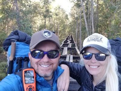 Beaufort SC Couple hiking the Appalachian Trail to raise awareness for Multiple Sclerosis