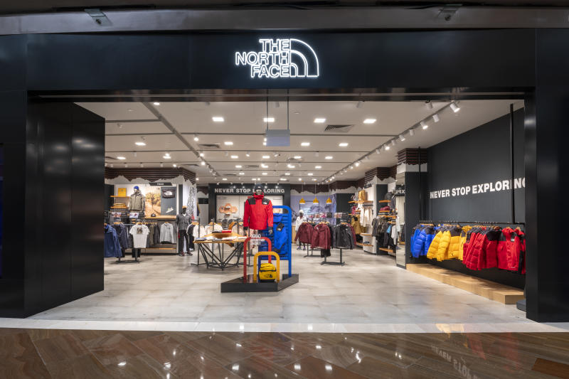 official photos db54a fc6a9 The North Face opens a new store at Marina Bay Sands with ...