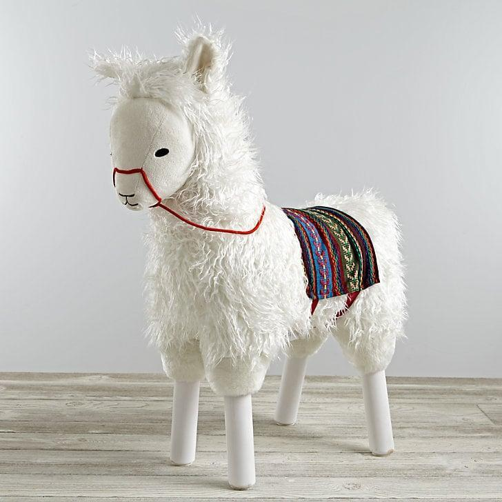 <p>The <span>Llama Ride-On</span> ($149) helps those older babies with their balance. </p>