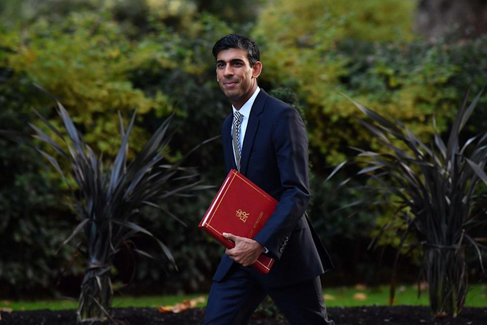 <p>The Treasury also announced today that more than 1.4 billion government-backed loans have been taken up by businesses around the UK</p> (AFP via Getty Images)