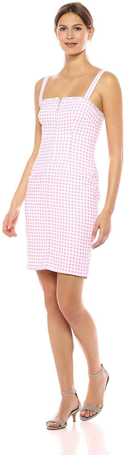 <p>Do you need this sexy <span>Likely Keeley Gingham Printed Party Dress</span> ($63) in your closet? We think so.</p>