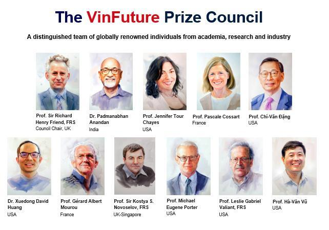 Members of VinFuture Prize Council