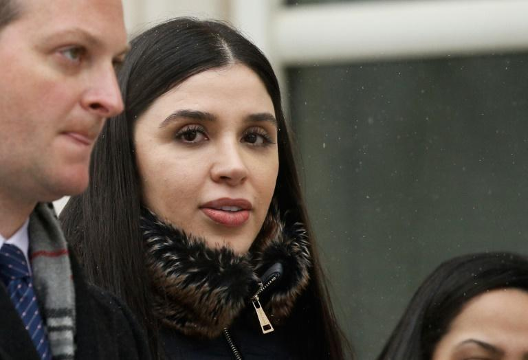 """Emma Coronel Aispuro, wife of convicted Mexican drug lord Joaquin """"El Chapo"""" Guzman, was arrested by US authorities on drug trafficking charges"""