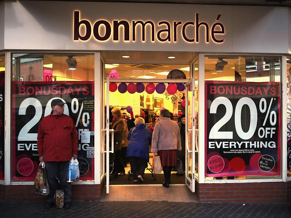 <p>Bonmarche's announcement is the latest in a dire week for UK high streets that has seen Sir Philip Green's Arcadia call in the administrators and Debenhams enter liquidation</p>