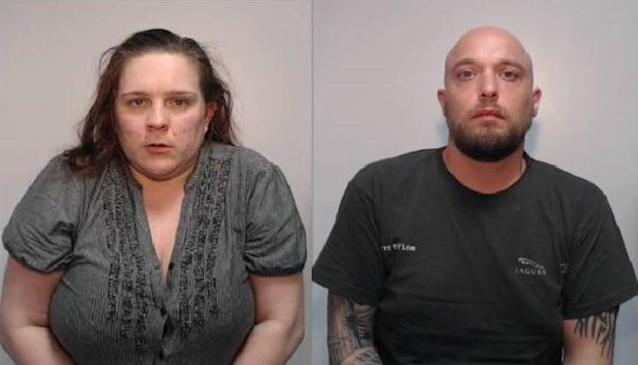 Peter Taylor and Keeli Burlingham, both 33, abused five young girls (Picture: Police)