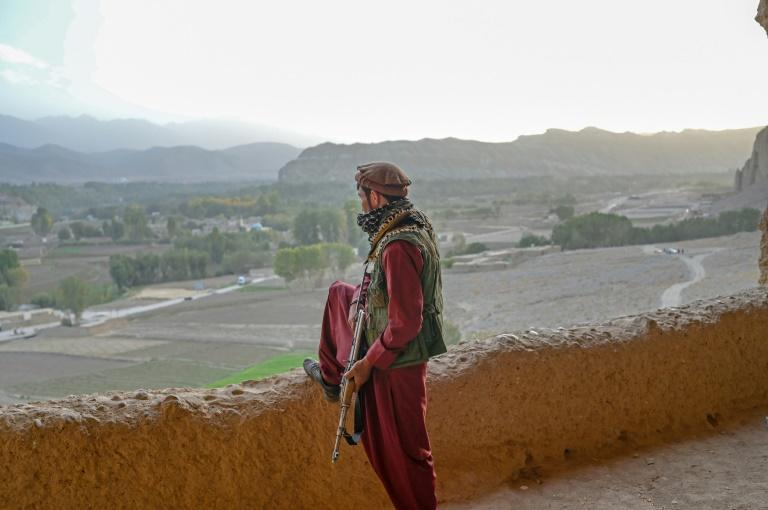 The Bamiyan valley is nestled in the heart of the Hindu Kush mountain range and marks the westernmost reach of Buddhism from its birthplace in the Indian subcontinent (AFP/BULENT KILIC)