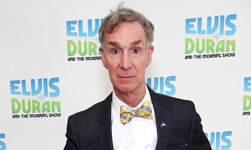Bill Nye in New York. Nye called EPA administrator Scott Pruitt one of the 'least qualified people on the planet' to run the agency.