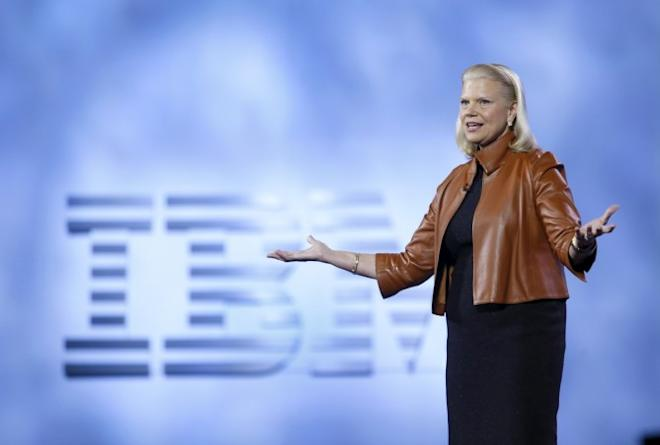 Ginni Rometty, chairman, president and CEO of IBM