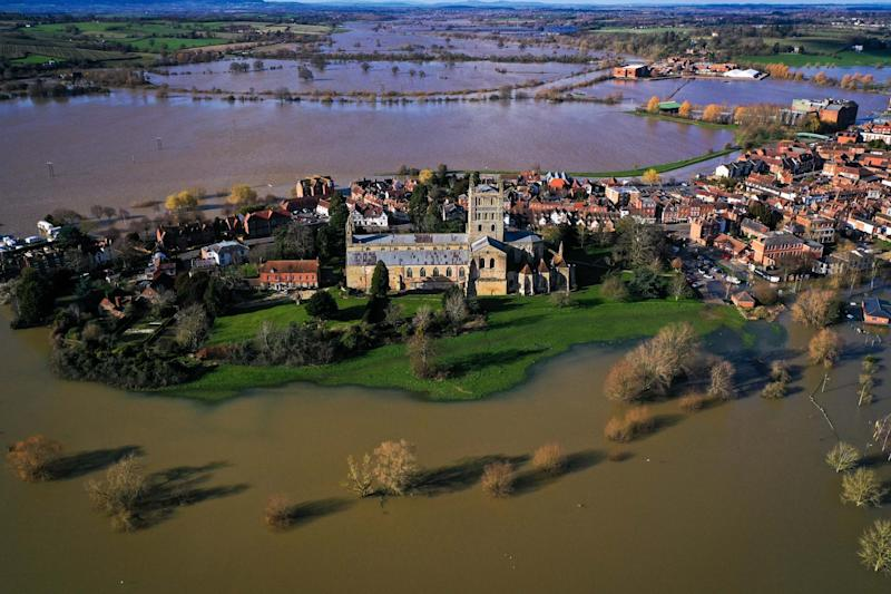 Tewkesbury was hard hit by storms (Getty Images)