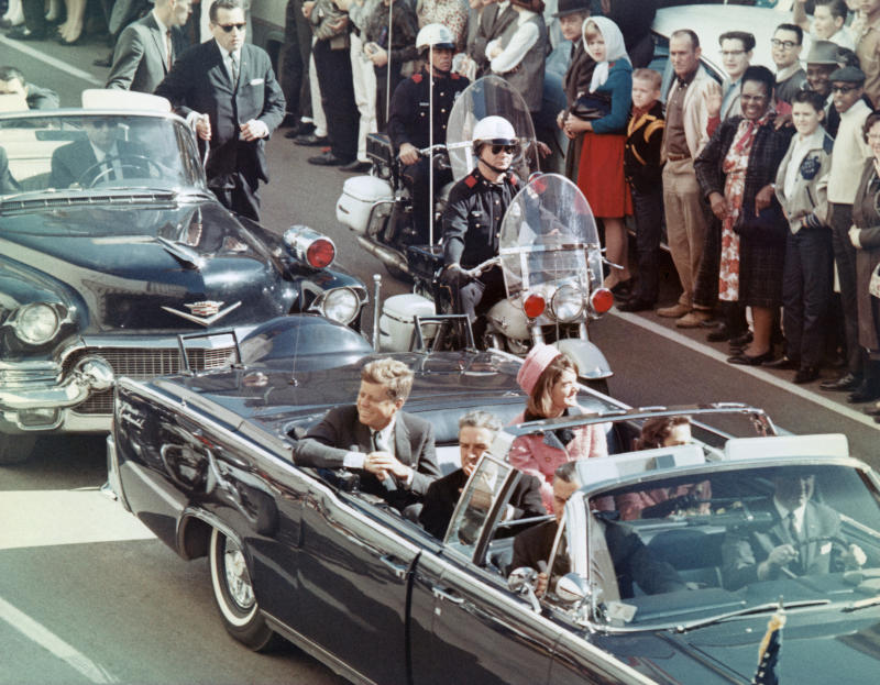 Trump Keeps Some Kennedy Assassination Records Secret