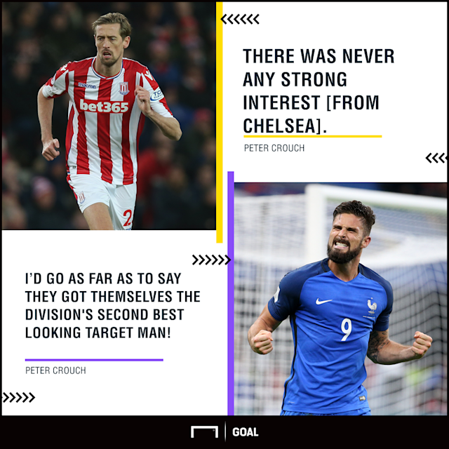 The Stoke striker emerged as a shock target for the Blues during the January window, but Antonio Conte eventually landed Olivier Giroud from Arsenal