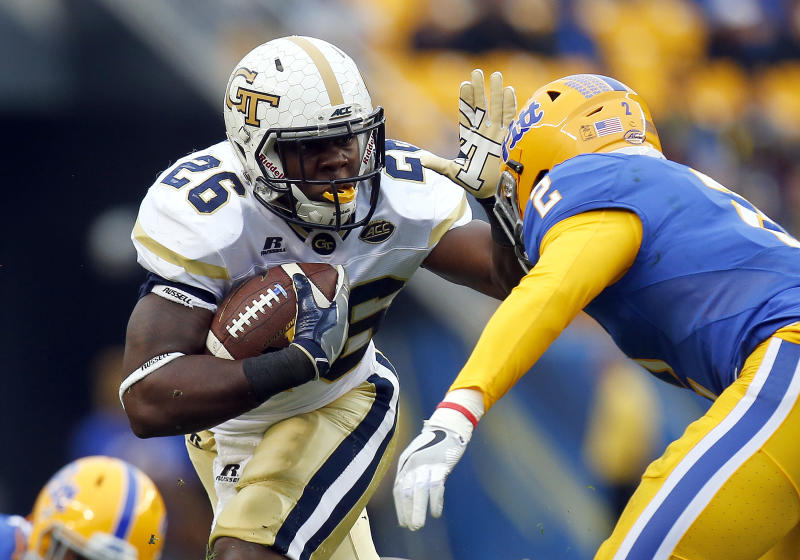 Georgia Tech dismisses leading rusher Derrick Mills