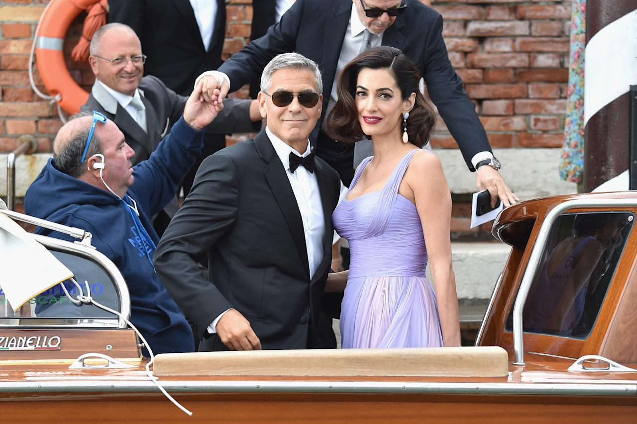 Stunning Parents: Amal And George Clooney's First Public Appearance Since Welcoming Twins