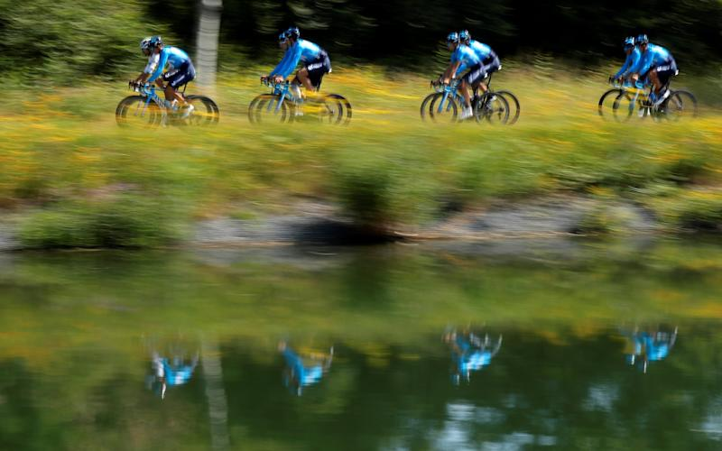 The Tour de France continues on Friday with stage 13, the 27km individual time trial through Pau - REUTERS