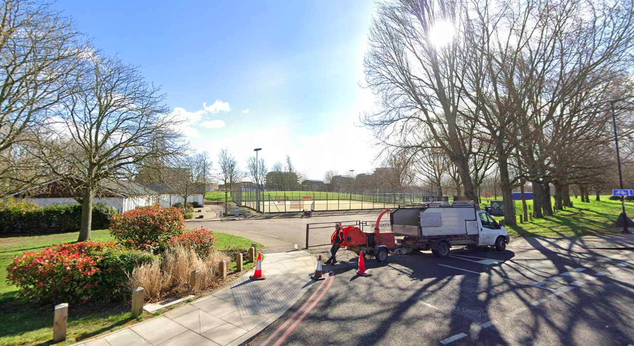 Sabina Nessa's body was found near the OneSpace community centre at Kidbrooke Park Road in Greenwich. (Google)