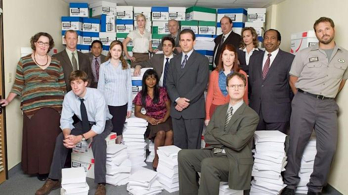 You can catch up with the Dunder Mifflin gang on NBC's Peacock streaming service.