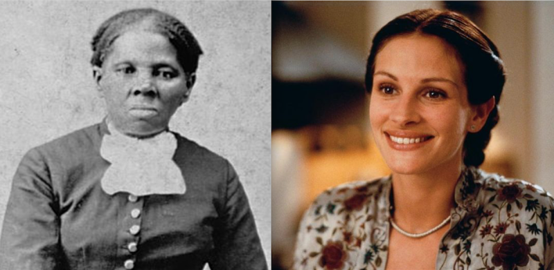 Julia Roberts was almost cast as Harriet Tubman in biopic