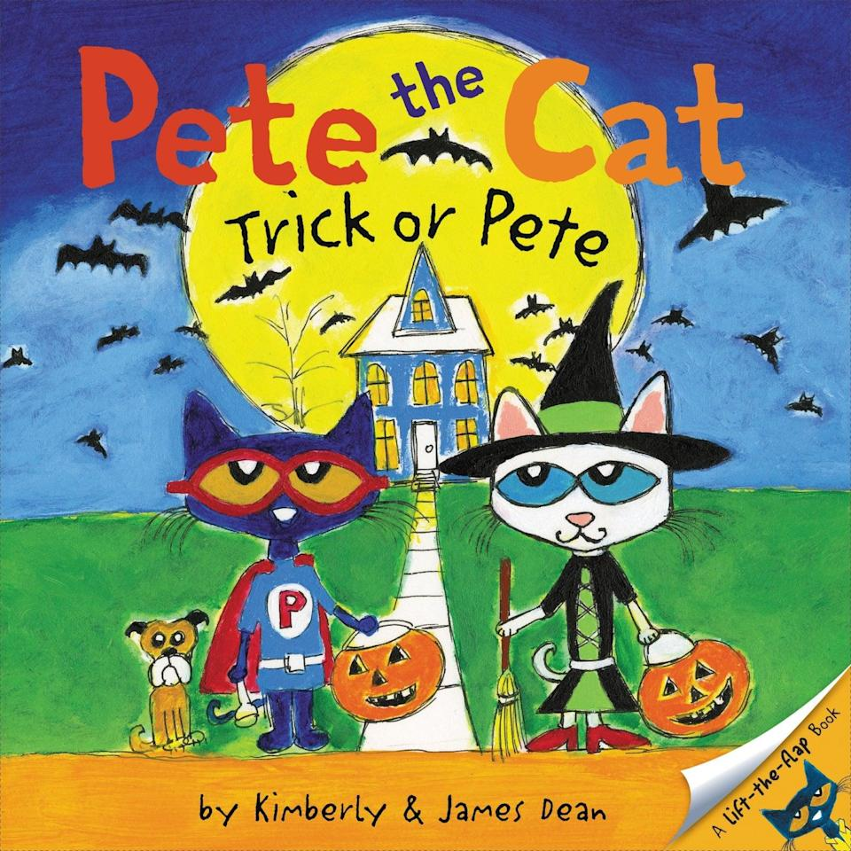 <p>A new addition to the beloved series, <span><strong>Pete the Cat: Trick or Pete</strong></span> ($6, originally $7) is an interactive flap book that can't be missed.</p>