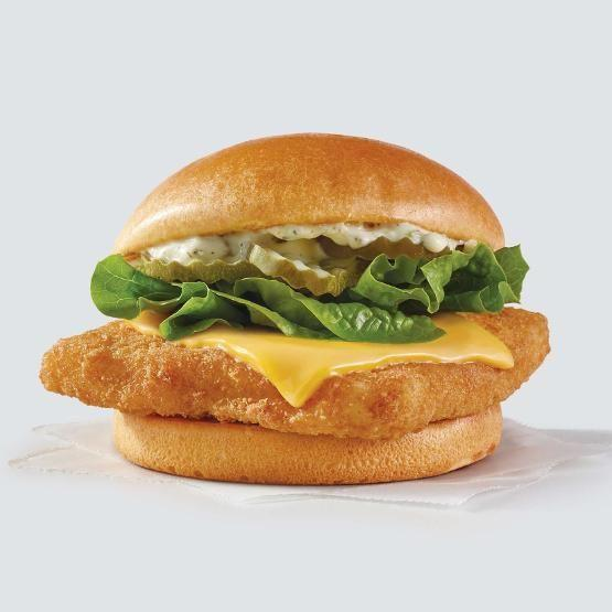 <p>The chain has a new fish sandwich in town this year. It's called the Crispy Panko Fish Sandwich and it's made with a Wild Alaska Pollock fillet, tartar sauce, lettuce, and pickles.</p>