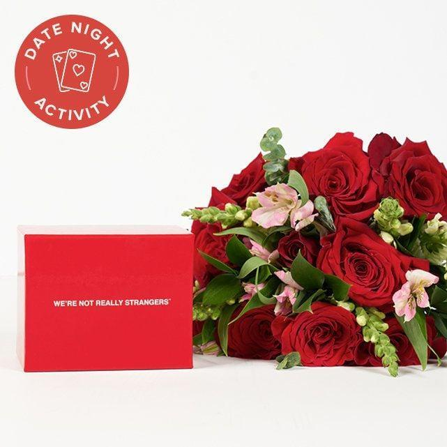 <p>Gift your loved one this <span>The Bouqs Co Date Night In</span> ($89) set, which includes gorgeous flowers and the card game We're Not Really Strangers, which will help you get to know someone on a deeper level.</p>