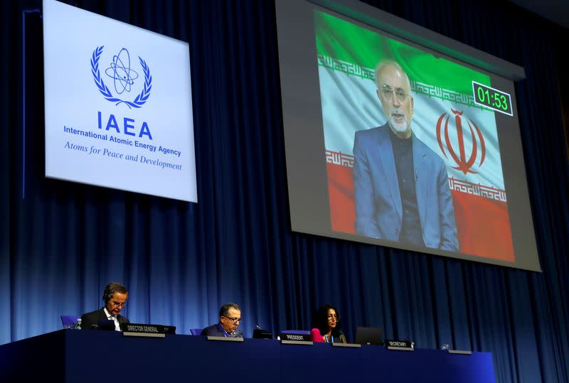 FILE PHOTO: IAEA Director General Grossi attends the opening of the IAEA General Conference in Vienna