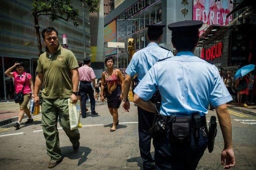 Hong Kong police said it will go on a trial to use body cameras