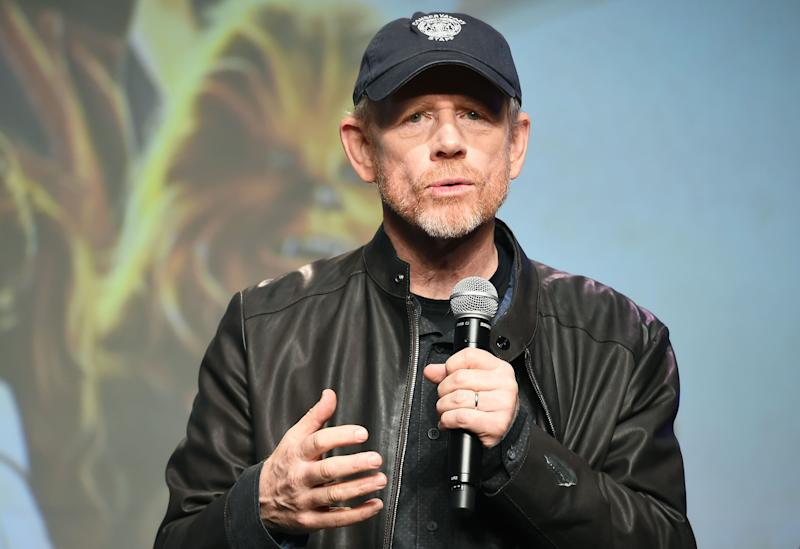 "Ron Howard, pictured June 11 in Tokyo, lamented the disappointing showing of ""Solo: A Star Wars Story"" on Twitter."