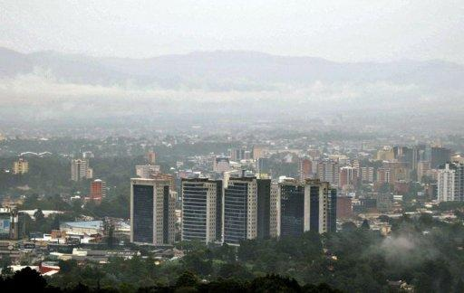View of Guatemala City in 2010