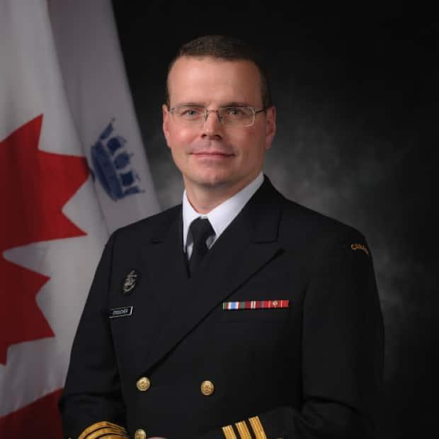 The navy is disciplining Cmdr. Danny Croucher, the former Commandant of Navy Fleet School Atlantic after an investigation into a complaint of inappropriate and harmful comments that were sexual in nature, according to sources.  (Danny Croucher/LinkedIn - image credit)