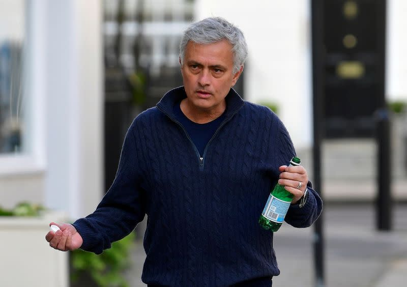 FILE PHOTO: Tottenham Hotspur manager Jose Mourinho is sacked