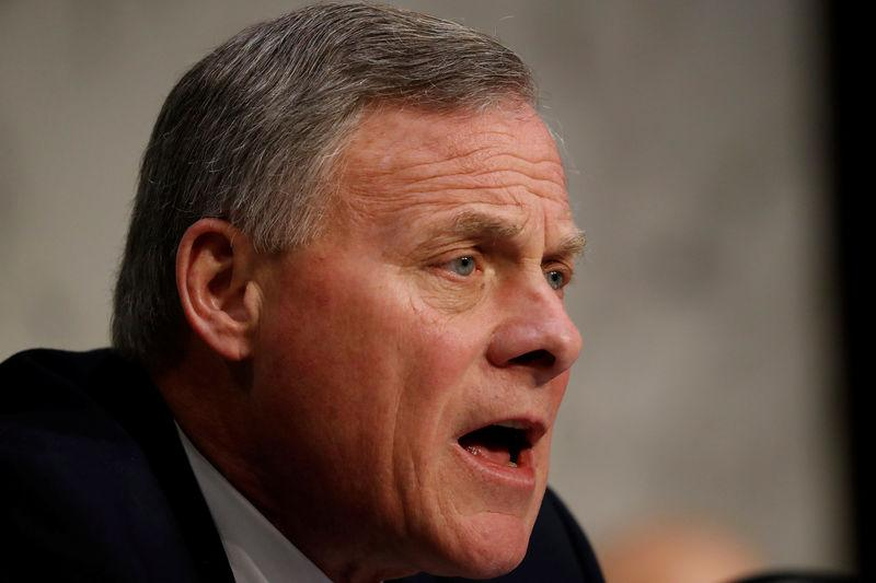 Sen. Richard Burr (R-NC) speaks during a hearing of the Senate Intelligence Committee on Capitol Hill in Washington