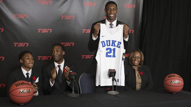 Everything you need to know about where Canada's top basketball prospects will be playing next season. (Getty Images)