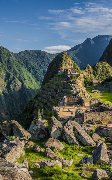 Machu Picchu - Credit: Getty Images
