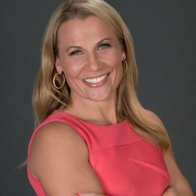Lisa Byington is making history as the Milwaukee Bucks' new play-by-play voice on their television broadcasts. The team says she's the first woman to work as a full-time television play-by-play announcer for any major men's professional sports team. (Photo: Courtesy of the Milwaukee Bucks)