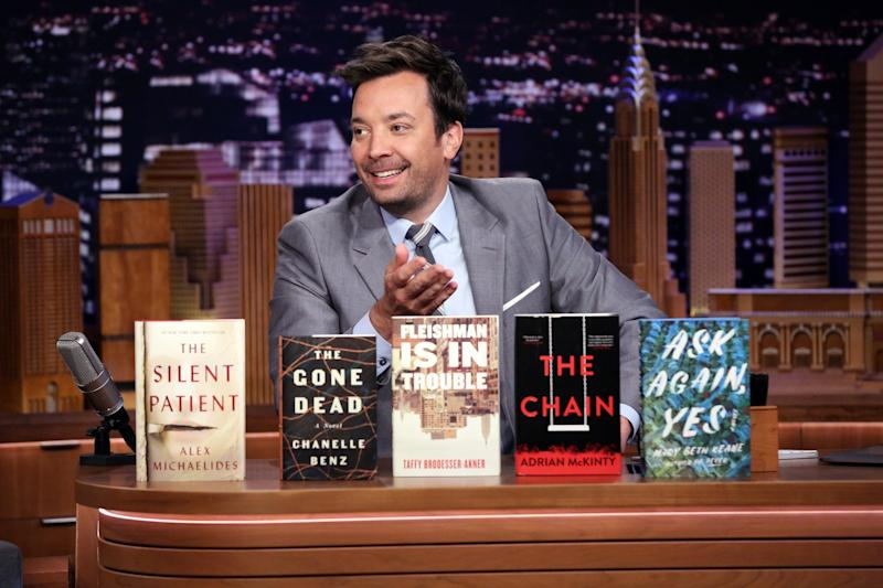 Jimmy Fallon wants you to vote for the Tonight Show summer read