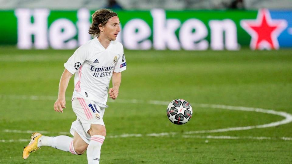 Real Madrid v Liverpool - UEFA Champions League - Luka Modric. | Soccrates Images/Getty Images