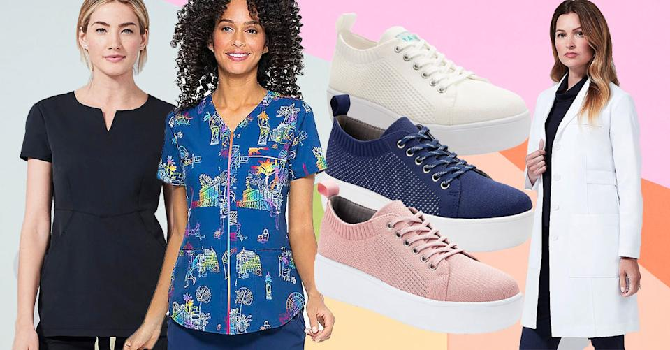 The Essential Worker Shop at QVC is a prescription for stylish workwear. (Photo: QVC)
