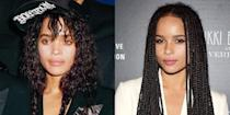 <p>Lisa Bonet's role as Denise Huxtable in <em>The Cosby Show </em>skyrocketed her to fame, and her relationship with Lenny Kravitz got her loads of attention too. Her daughter with Lenny, Zoë, worked hard to be viewed as a serious actress in her own right, most recently starring in the hit HBO series <em>Big Little Lies.</em></p>